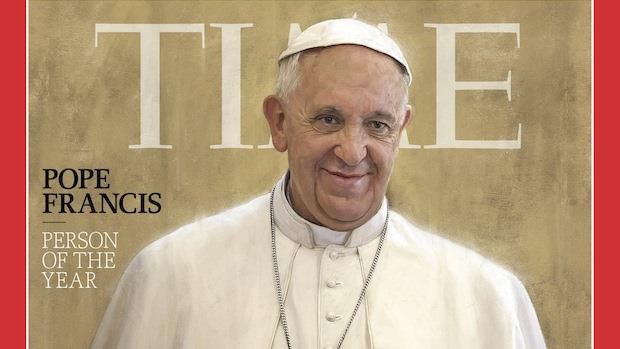 Congratz, Pope: Human of the year