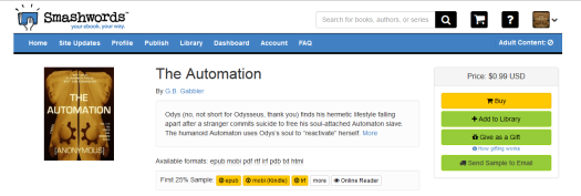 Meet our character Bob in THE AUTOMATION